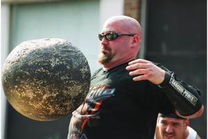 Learn to lift Atlas Stones at Boston's only fully equipped Strongman gym