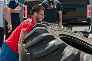 Learn to flip tires at Total Performance Sports-Boston's only fully equipped Strongman gym.