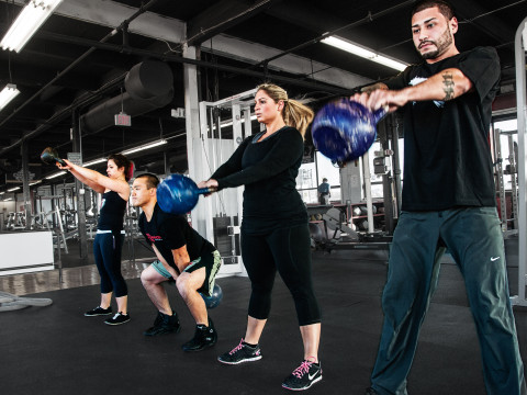 Gutts and Butts-Free Group exercise class with membership at the gym voted Best of Boston