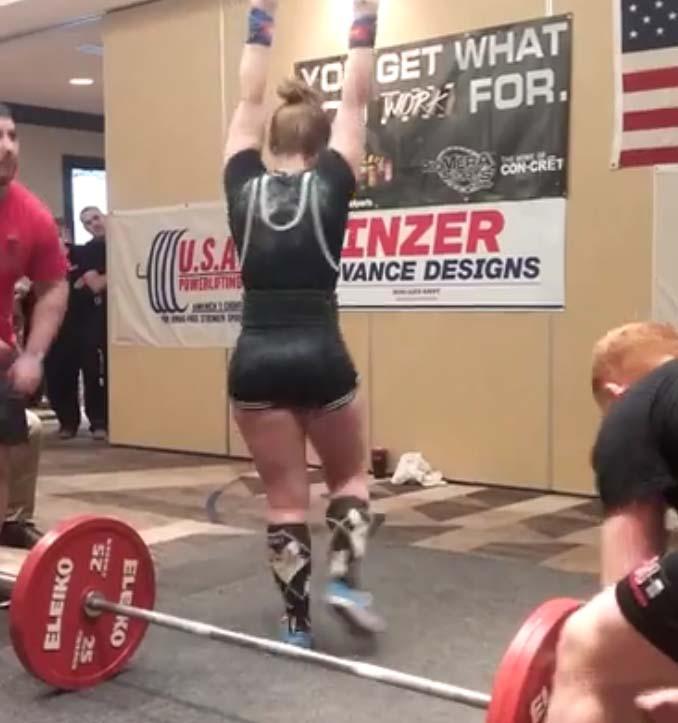 Alyssa Frey DL , USAPL, Powerlifting, Arnold Classic, Member Minutes, Alyssa Frey, Lodrina Cherne
