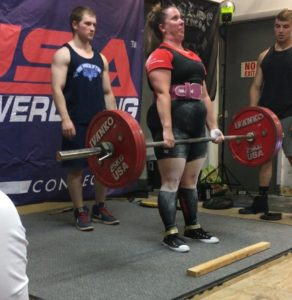 Danielle Bond USAPL deadlift 7 2017