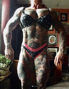 But……why do you want to be SO big??!?!?!?, stephanie tomlinson, totalperformancesport, fuckable, big, powerlifting, bodybuilding