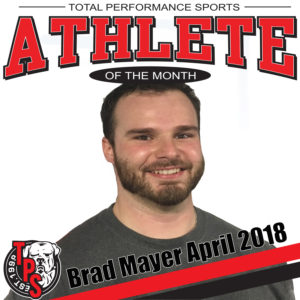 Brad Mayer, 531 , athlete of the month